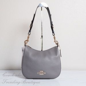 NWT Coach Leather Jes Hobo in Colorblock